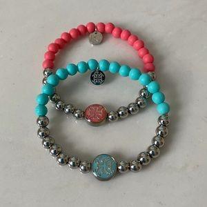 Rustic Cuff Mini Melanie Bracelets Set
